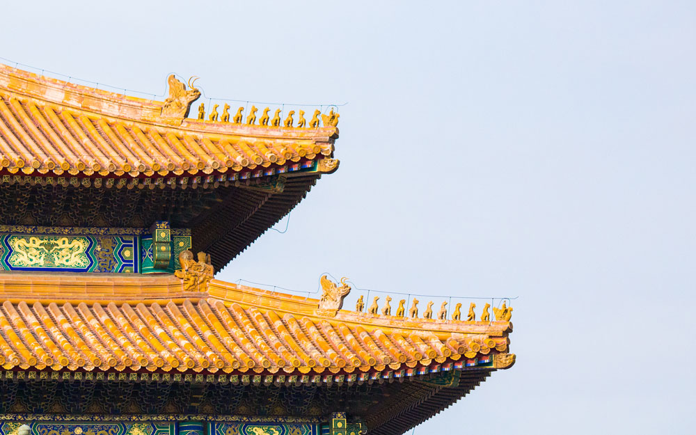 Bestias en arquitectura china
