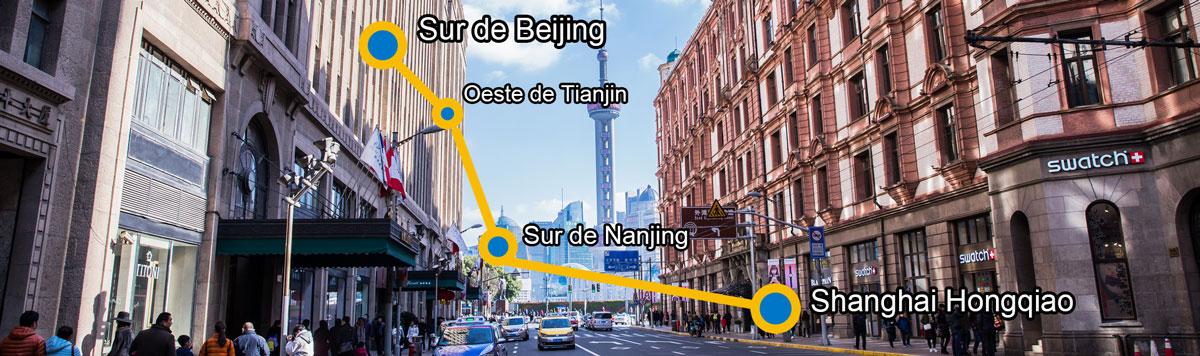 tren beijing-shanghai